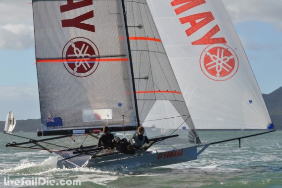 Yamaha 18ft Skiff - Photo by LiveSailDie.com