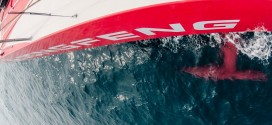 Volvo Ocean Race: Team Dongfeng all at sea