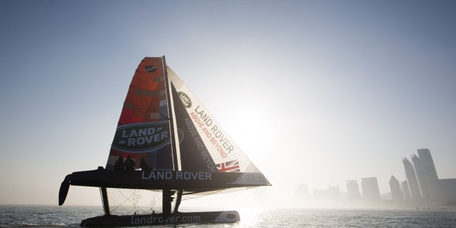 'Team Extreme Qingdao' is home nation entry for Chinese Act of 2014 Extreme Sailing Series