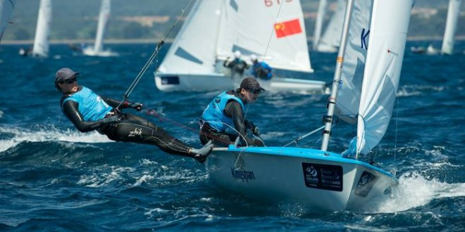 NZL Sailing Team Update: Five in the top four as Hyeres hits the mid-way mark