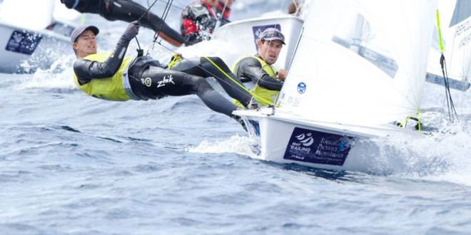 Belcher / Ryan on medal course at ISAF Sailing World Cup in Hyères