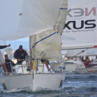 Jeremy Lomas skippers Flash Gordon to victory in the 2010 Harken Young 88 Nationals – Cathy Vercoe – LuvMyBoat.com