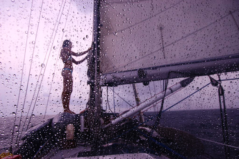 This 34-year-old woman has sailed solo around the world for 10 years.