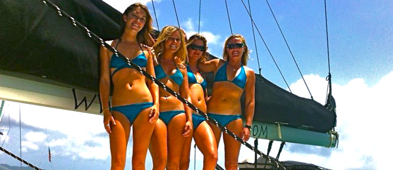 The toughest girls I know in Ranifly Bikinis