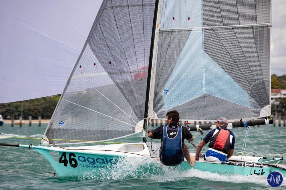 12' Skiff Interdom Trials. Photo: Rachel von Zalinski - Live Sail Die